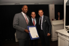 Lennox Lewis, Mayor Philip Levine, Les Woods